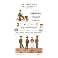 Anzac Biscuits - Tea Towel