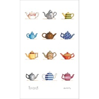 Teapots - Tea Towel