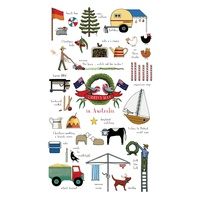 Christmas In Australia - Tea Towel