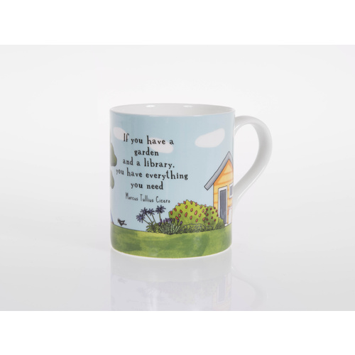 Practising Contentment Bone China Cup
