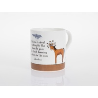 Crazy Horse Rain Dance Bone China Cup