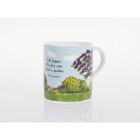 Jacaranda Garden Bone China Cup
