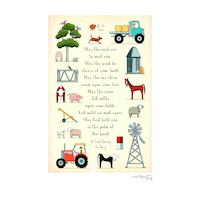 Mixed Farming A4 Custom Print